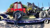 Komatsu entrega duas novas máquinas florestais à empresa butiaense