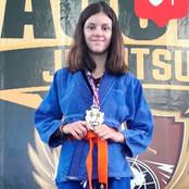 Anna Kalú conquista medalha em Campeonato Kids de Jiu Jitsu