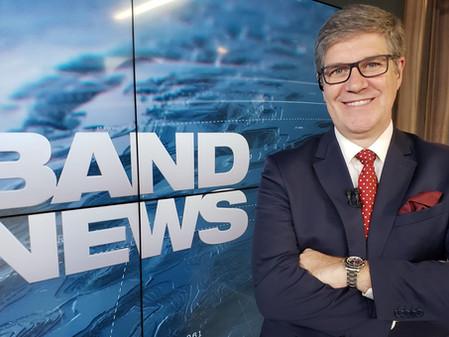 Felipe Vieira estreia neste domingo na BandNews