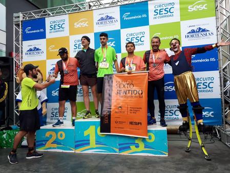 Paratleta conquista medalha de bronze em Caxias do Sul