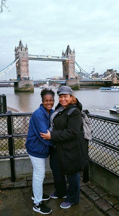 Me, Ma'Sara and the London Bridge