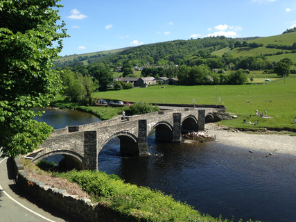 Carrog Bridge on River Dee