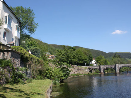 View from Penlan River Bank