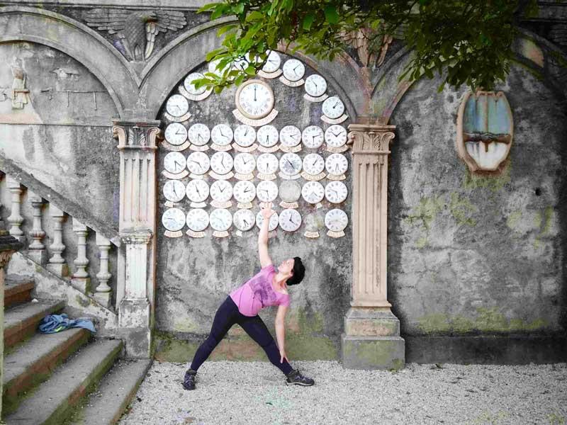 Flor de Tila yoga Coruña centro