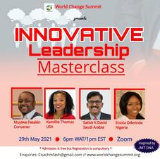 Innovative Leadership Masterclass
