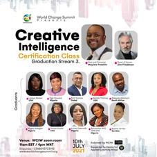 Certified Creative Intelligence Coach