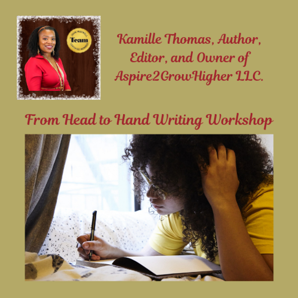 From Head to Hand: How to Write & Self-Publish Your Book