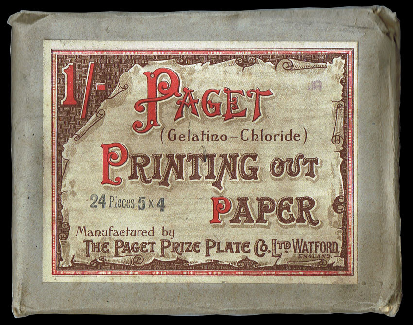 Paget's POP - Printing Out Paper packaging.