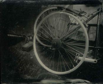 Tintype / Wet Collodian Positive on tin.