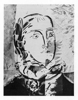 Cliche Verre by Pablo Picasso.