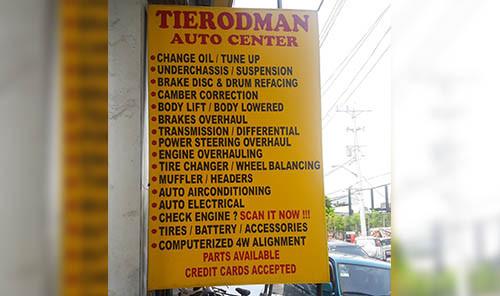Change Oil, Tune Up, Power Steering Overhaul
