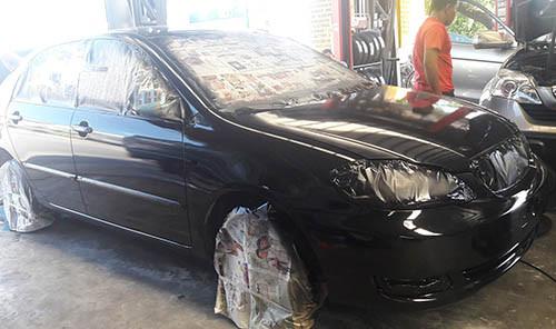 Engine Overhauling, Camber Correction