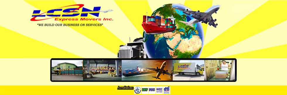 Logistics in Las Pinas, Metro Manila - LCSN Express Movers, Inc.