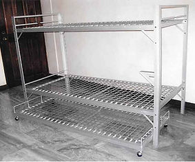 Double Deck Bed with Pull Out