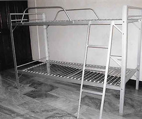 Double Deck Bed with Sidings and Ladder