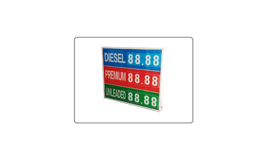 Manuel LED Price Board