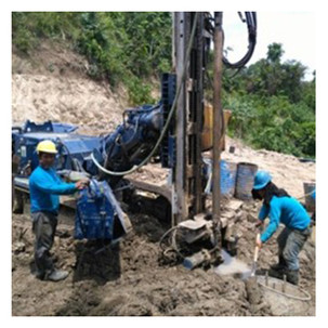 Slope Stabilization / Continuous Bored Pile Wall