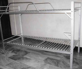 Double Deck Bed with Sidings