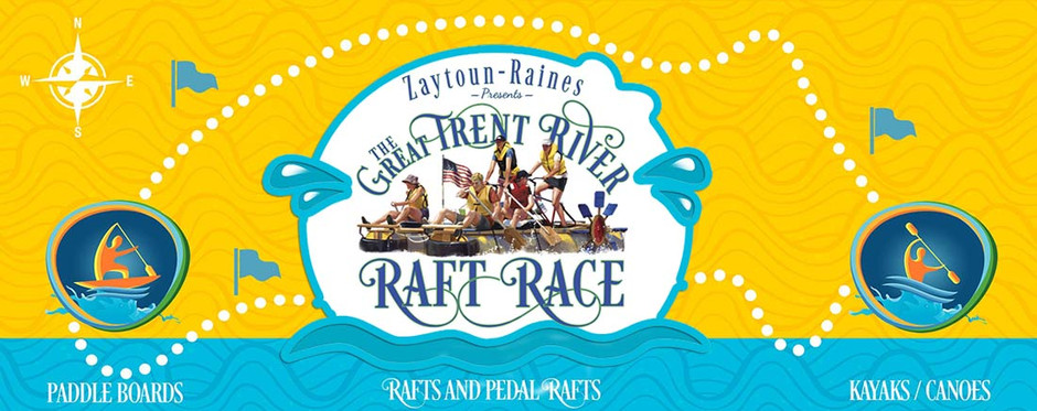 The Great Trent River Raft Race