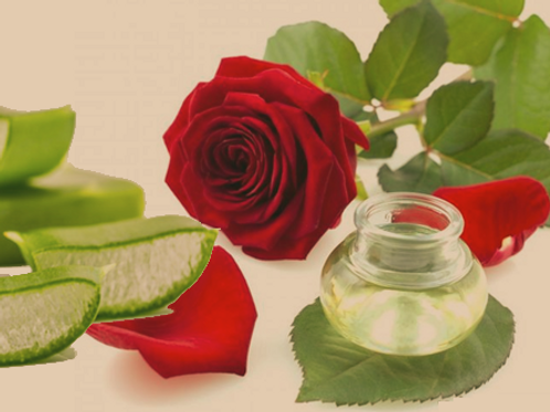 Rose and Aloe Facial Mask