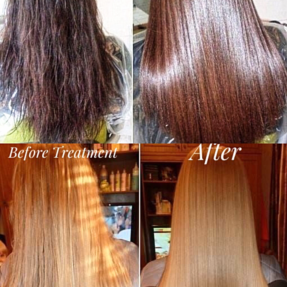keratin collegen hair treatment
