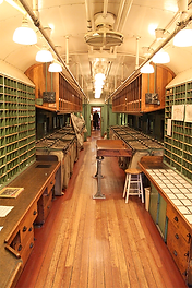 Great Northern Railway Post Office Car