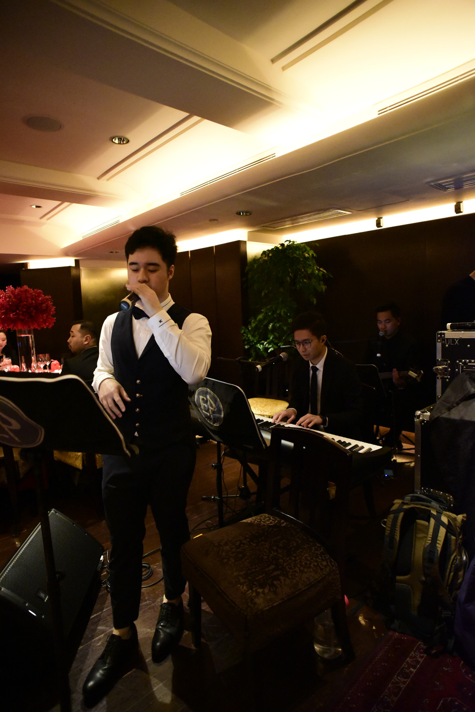 Wedding live band (2 pieces with vocal)