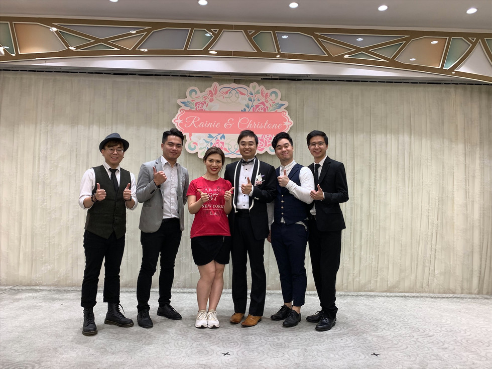 Wedding live band performance (4人婚禮樂隊)