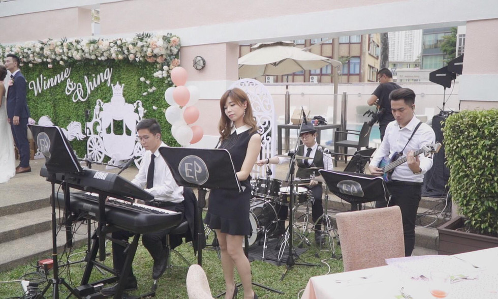 Wedding live band (4人婚禮樂隊)