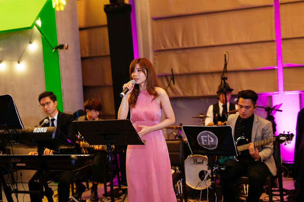 Private Party Live Band Performance (5人樂隊演奏)