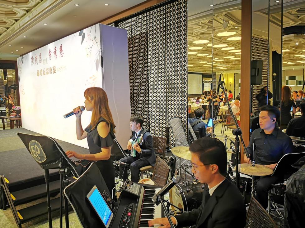Wedding Anniversary Live Band Performance (4人樂隊)