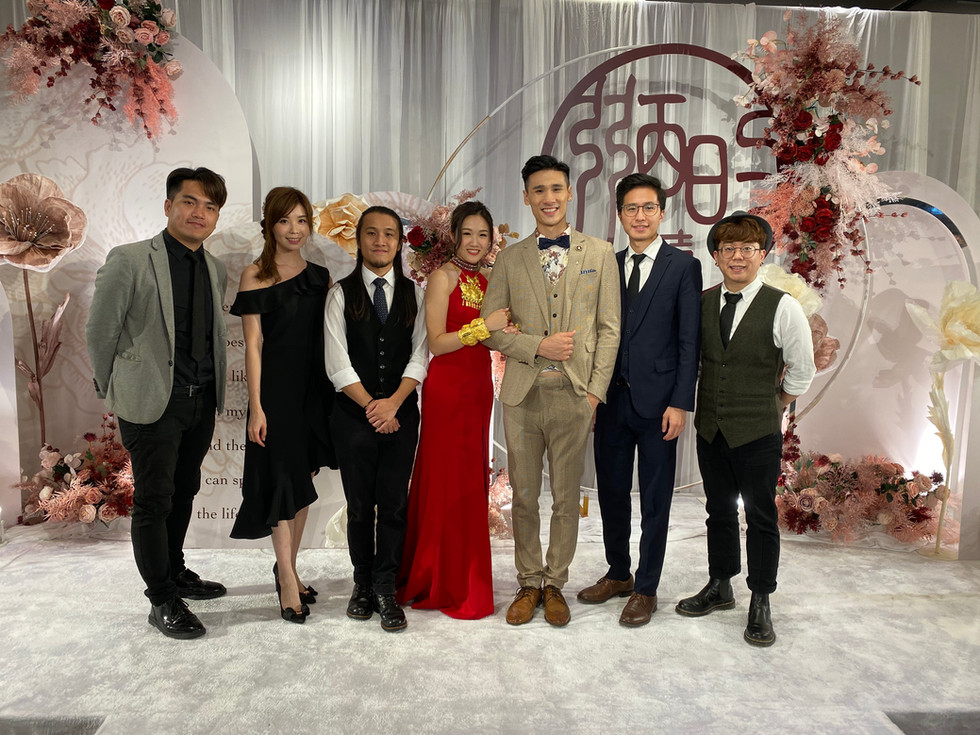 Wedding live band (5人婚禮樂隊)