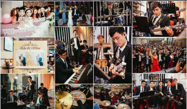 Wedding Live Band 婚禮樂隊 (5 pieces band)