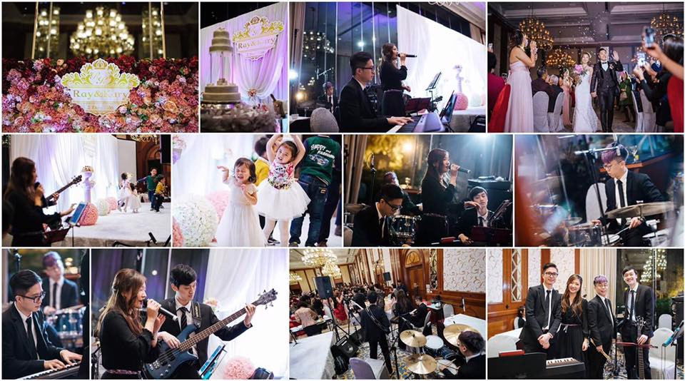Wedding Live Band 婚禮樂隊 (4 pieces band)