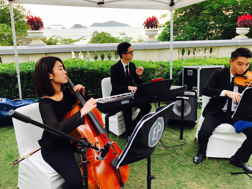 Wedding Live Music (Piano+Violin+Cello)