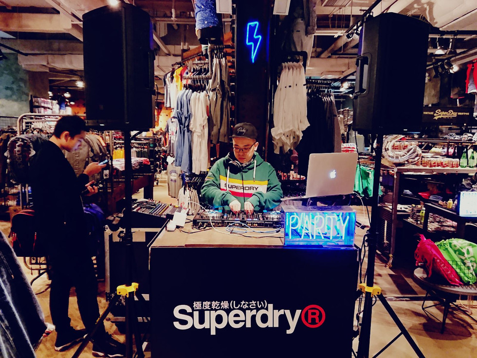 Audio Rental 音響租借-Superdry Event ft. DJ Midy