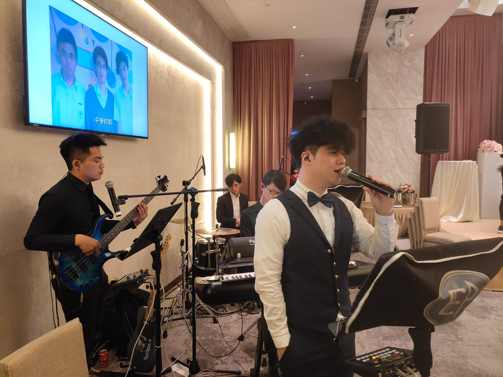 Wedding Live Band Performance (4人婚禮樂隊)