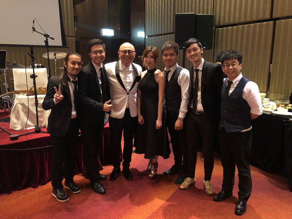 Wedding live band (6-piece band)