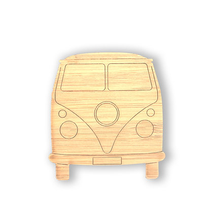 VW Bamboo Pins, Ornament or Magnet