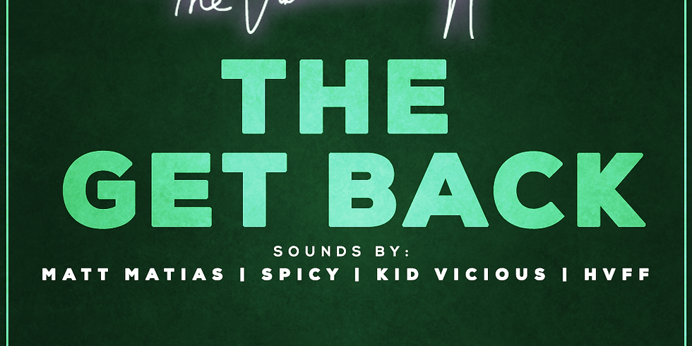 The Get Back - Welcome Back To Partying