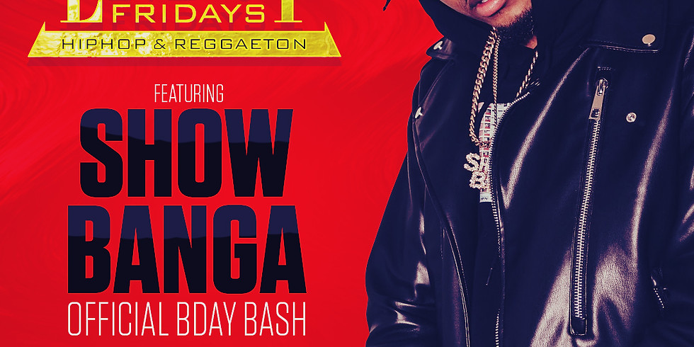 Show Banga Birthday Bash - The End Up