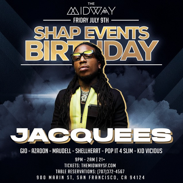 Jacquees live at Shap Events Birthday