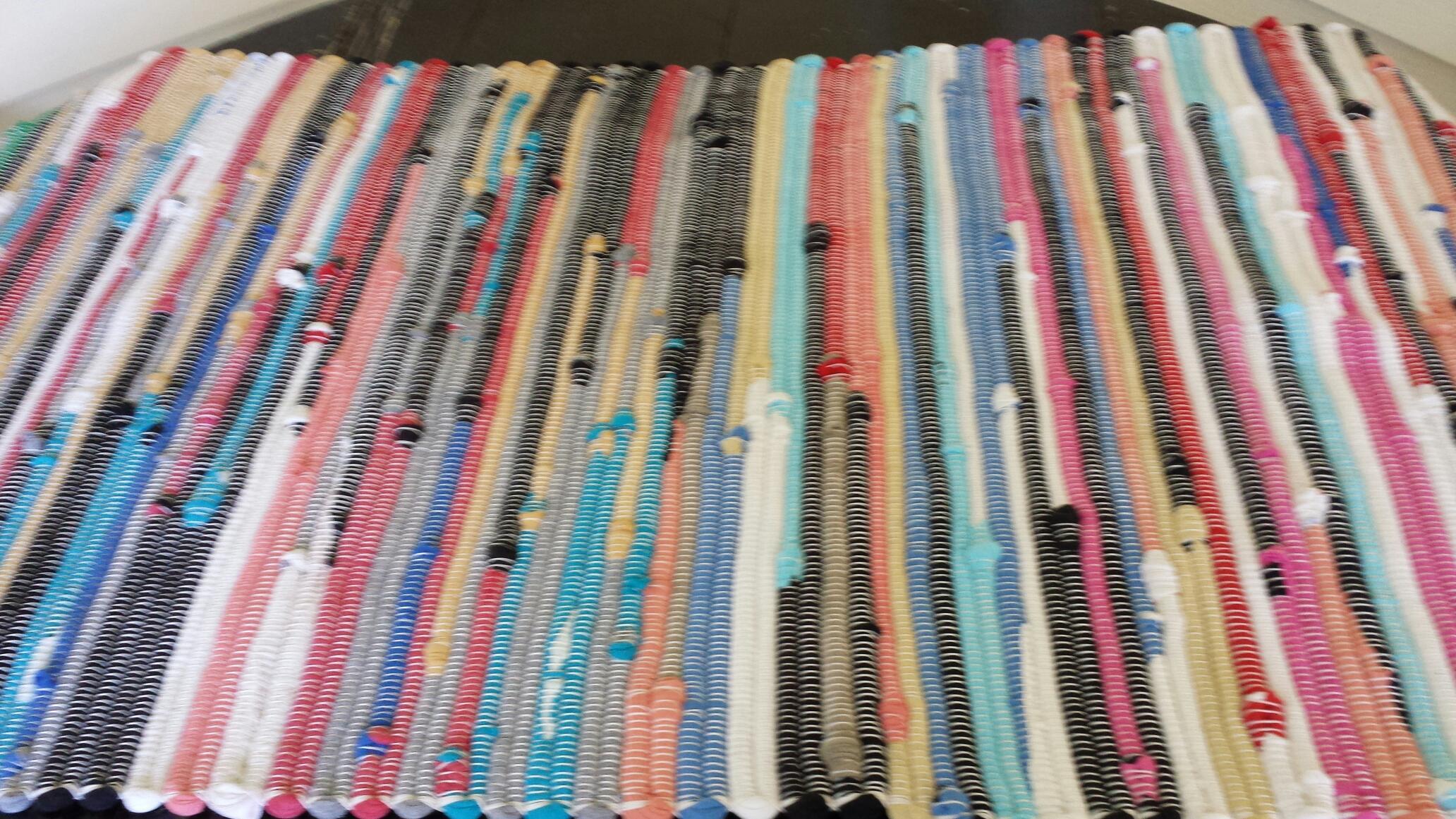 Looper Tee Shirt Rug