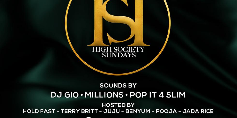 High Society Sundays - Vanity Nightclub