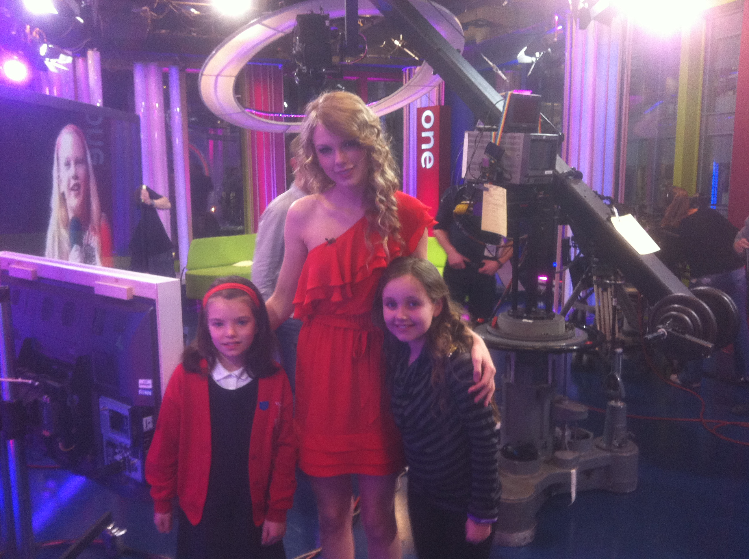 Taylor Swift and I!