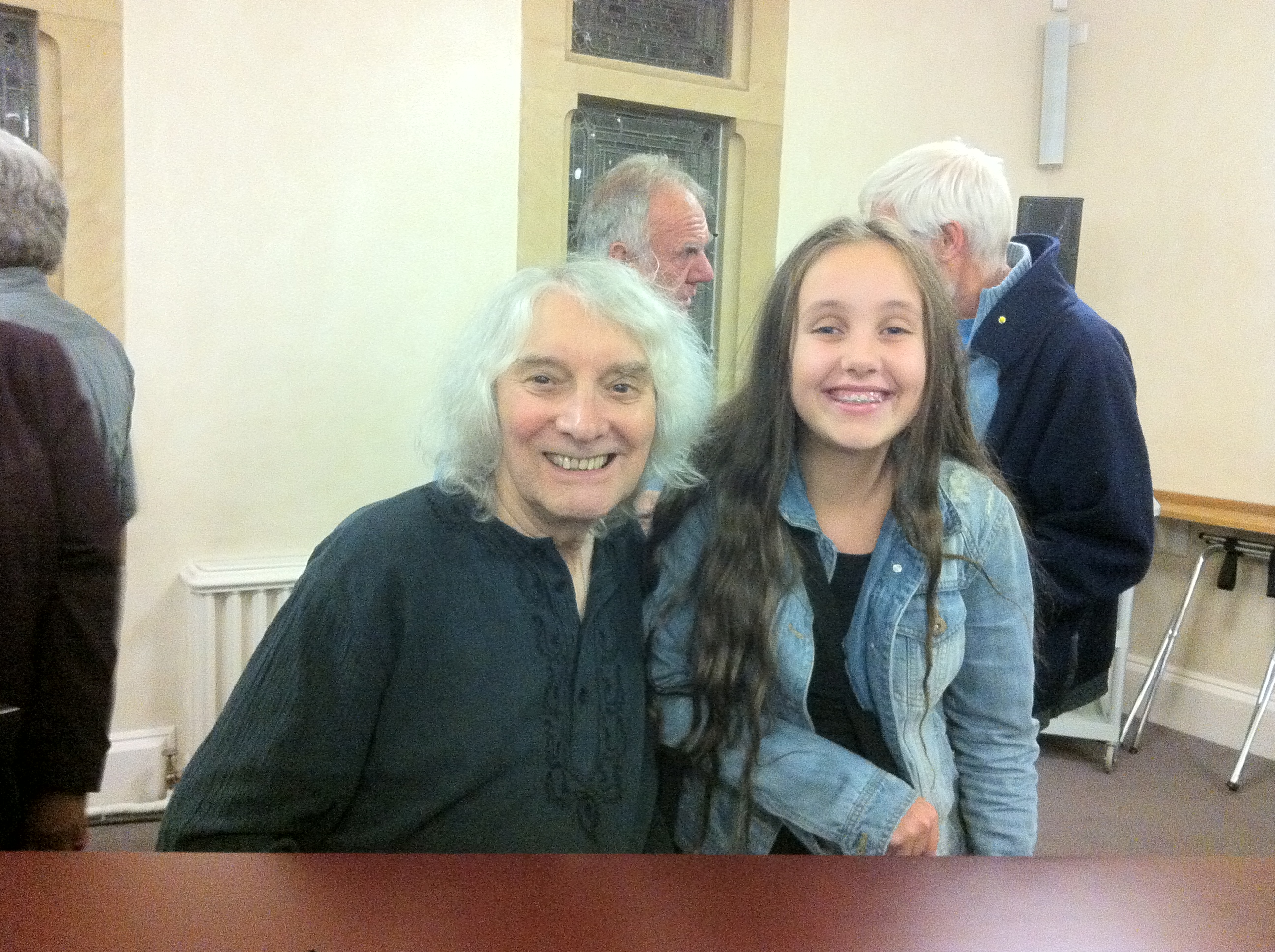 Albert Lee and I!