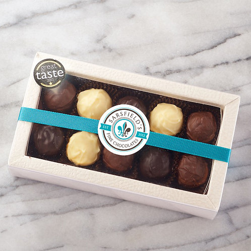 Luxury Truffle Box - 10 Chocolates