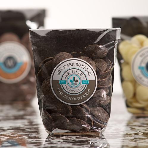 60% Blend Dark Chocolate Buttons
