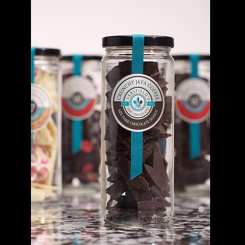Crunchy Java Coffee Dark Shards Jar