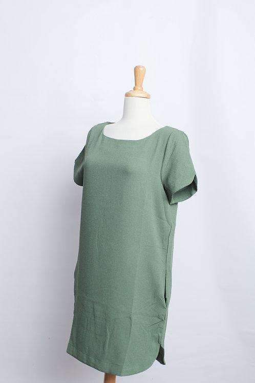 Olive Shift Dress